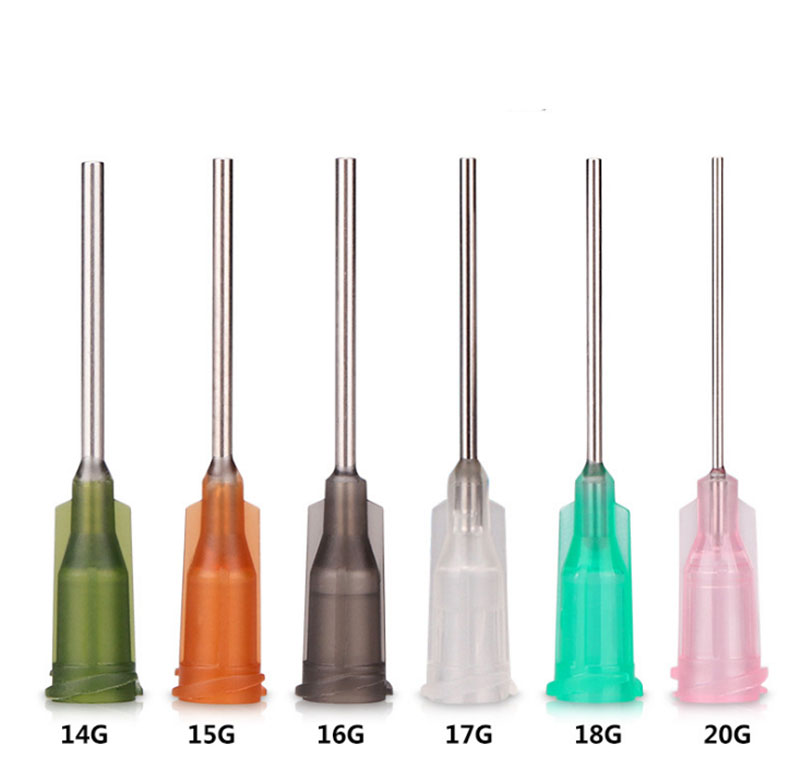 1 Inch Blunt Dispensing Needles With Plastic Hub