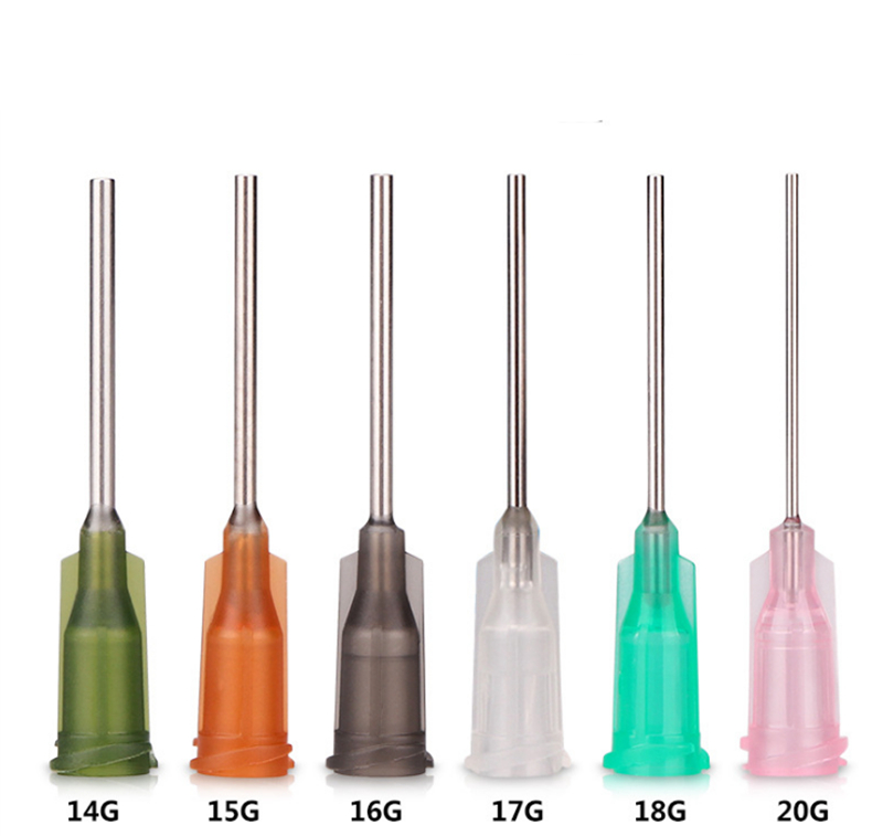 1 Inch Blunt Dispensing Needles With Plastic Hub - 30 Gauge Needle