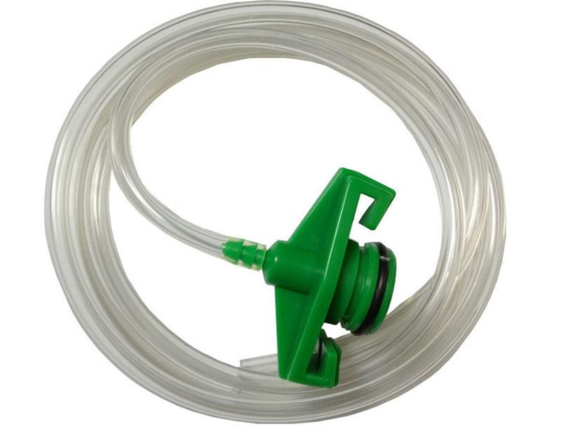 adhesive syringe adapter