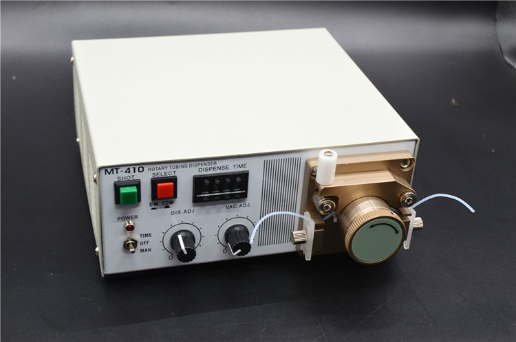 benchtop peristaltic dispensers for quick-dry adhesive