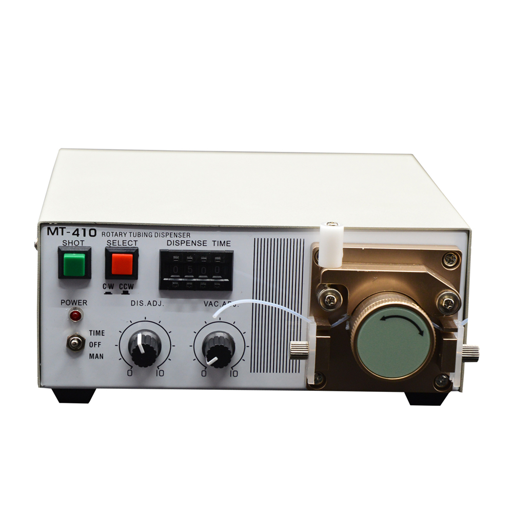 MT-410 Automatic benchtop peristaltic dispenser for 502 instant adhesive