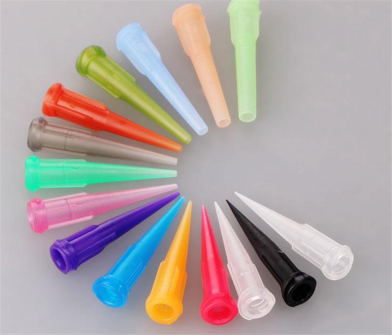TT Plastic Tapered Tip With Luer Lock Threaded Hub - Blunt Dispensing Needles