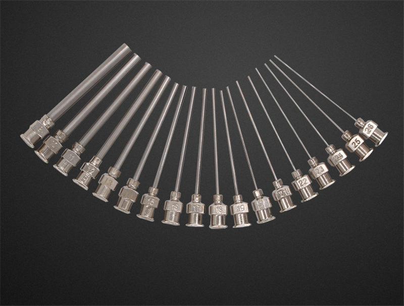 stainless steel dispensing tips