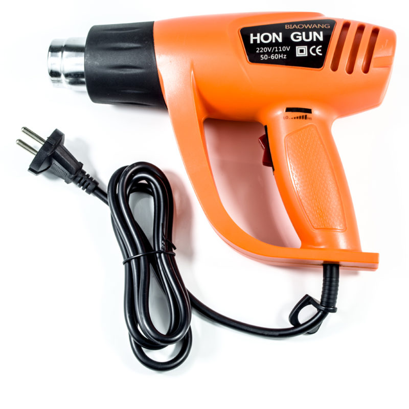 220V EU Heat gun for embossing hair dryer heat gun for home DIY