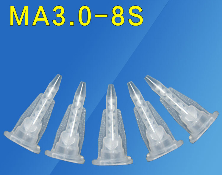 Bayonet type Static Mixing Nozzle MA3.0-8S