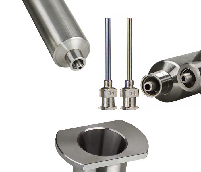 stainless steel glue applicator syringe