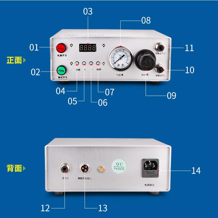 schematic diagram of glue dispenser